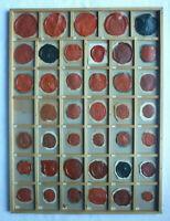 S10 Siegel Sammlung 40 Fürstliche Häuser Wappen vor 1918