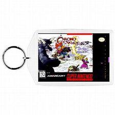 Super Nintendo Snes CHRONO TRIGGER Box Cover Game Cartridge Keychain New