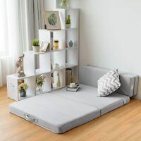 Folding Mattress Sofa Bed Futon Couch Lounger Foam Sleeper Chair Queen/Full/Twin