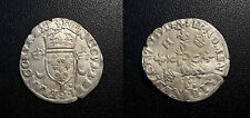 Henri II - douzain aux croissants - 1551 D, Lyon - Dy#997