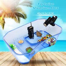 Schildkröten Terrarium Insel Aquarium Becken Reptilien Heim Wasserschildkröten