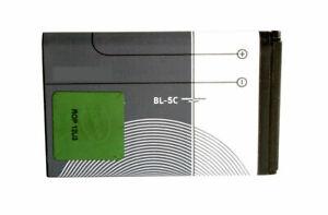 Genuine Battery BL-5C BL5C 1020mAh For Nokia 2118 6086 6108 6205 6555 6600 6620
