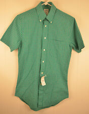 New Brooks Brothers 346 The Original Polo Shirt Slim Sit Extra Small XS Green