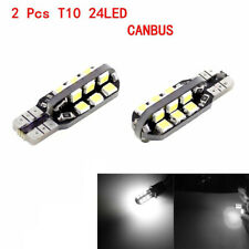 10pcs T10 194 5W COB 2835 SMD LED Car Canbus Super Bright License Light Bulbs