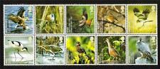 QEII 2007 SG2764-2773 BIRDS BLOCK OF 10 SET MNH