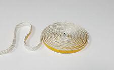 Dichtschnur Dichtband 10 x 2 mm selbsklebend Ofendichtung 0,25 m weiß Top Quali.