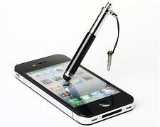 STYLUS PUNTERO LAPIZ iPhone 6 6S 7 PLUS iPod Galaxy EDGE mini iPad Negro