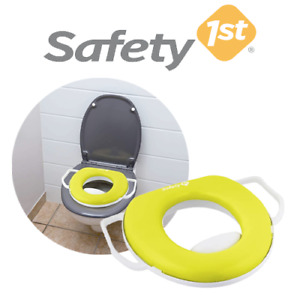 Safety 1st Baby & Toddler Comfort Potty Training Seat Fits on Toilet Seat Green