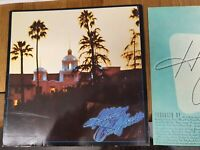 THE EAGLES Hotel California - Asylum 1976 UK - Original LP Vinyl Record