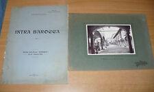 RAFFAELLO GIOLLI INTRA BAROCCA ESTRATTO DALLA RIVISTA VERBANIA N.10 1912
