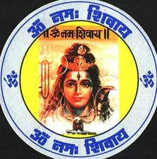 Traditional Lord Shiva/Shankar with Shivling Paper Sticker – Religious Sticker