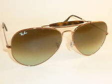 New RAY BAN Sunglasses Bronze OUTDOORSMAN II RB 3029 9002/A6 Gradient Green 62mm