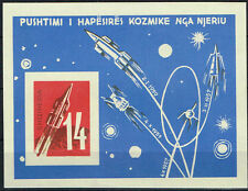 1962 Albanien Mi. Nr. Block 10 Weltraum / Space postfrisch (MNH)