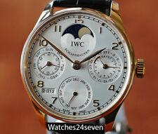 IWC Portuguese Perpetual Calendar Rose Gold, Ref. 5022 RETAIL $30,500
