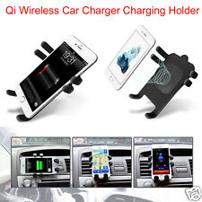 New Hot Qi Wireless Car Charger Transmitter Holder For Samsung Galaxy S6/S7