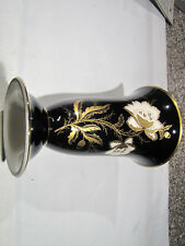 Lindner Kueps Bavaria  Vase   echt Cobalt   Porzellan