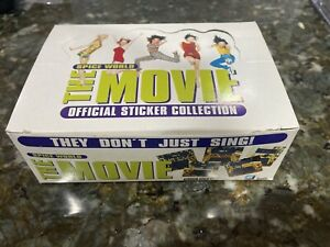 Spice Girls World The Movie 1997 Official Sticker Collection Box 100 Packs New A
