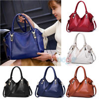 Women's Tote Leather Shoulder Bag Handbag Messenger Crossbody Hobo Purse Satchel