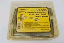 Fi-shock Inc. Model Sc-50D 8 Sets Extension Bracket Electric Fence InsulatorsNIB