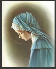 """Catholic Print Picture Sorrowful Blessed Virgin Mary 8x10"""" ready to frame"""
