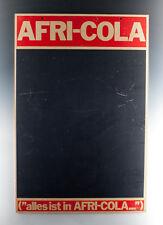 Beidseitig beschreibbare Tafel AFRI-COLA BLUNA um 1960