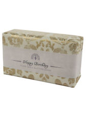 Luxury Happy Birthday Pure Shea Butter Soap in Vintage Style Paper Wrapping