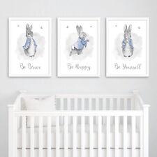 Peter Rabbit Print In Nursery Wall