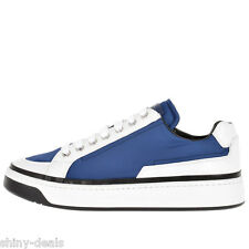 PRADA New Woman Nylon Blue White Lace Up Trainers Sneakers Shoes Sz 35.5 it $477