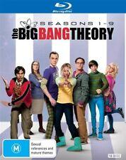 The Big Bang Theory : Season 1-9 (Blu-ray, 18-Disc Set) NEW