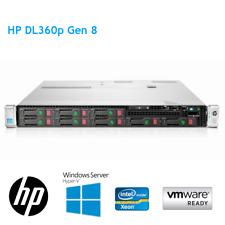 HP DL360p Gen8 2x E5-2630L V2 6Core 2.40GHz 64GB RAM 2 x 146GB HDD P420 2GB 8BAY