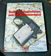 ALBRECHT SIMON-SELBSTLADEPISTOLEN AUS DEM BASKENLAND DWJ VERLAG TOPZUSTAND