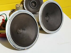 2 Philips 9710 Speakers 1955 woofer RARE