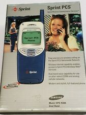 Samsung SPH-N300 - Blue (Sprint) Cellular Phone, New