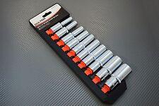 Steckschlüssel Satz lang Nuße 1/2 Zoll 10-tlg Stecknüsse Werkzeug Set Steck Nuss
