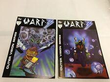 WARP-3 #1 ( Equinox/ Steve Morales/111454 ) COMIC BOOK COLLECTION LOT OF 2