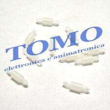 10 Distanziale distanziatori plastico per PCB circuiti stampati 5mm cod.FIXMAD5