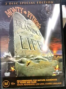 DVD: Monty Python's The Meaning Of Life  Region 4 John Cleese - USED BUT GOOD
