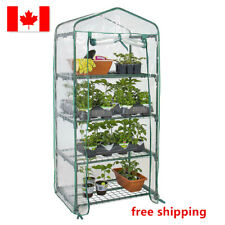 LIVINGbasic™ 4 Tier Portable Mini W/ Clean Cover Garden Plant Warm House Indoor