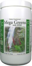 Mega Greens with MSM, Natural Health Supplement, All-In-One Green Drink