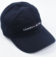 TOMMY HILFIGER Men's Baseball Cap, Hat, Midnight Blue - One Size Adult