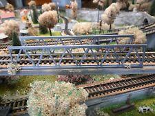 Lot 2 rambardes pont passerelle SNCF 1/87 HO décor train diorama maquette