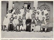 TANANARIVE UNION CATHOLIQUE CURE MONK MADAGASCAR IMAGE 1902 PRINT
