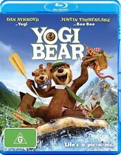 Yogi Bear (Blu-ray, 2011) NEW
