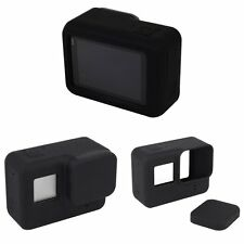 Housing Case Silicone Protective Cover + Lens Cap For GoPro HERO 5 Accessories