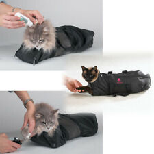 Cat Grooming Bag Restraint Carrier Bag Muzzle Nail Cut Cleaning Storage Sack