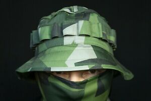"""Russian Boonie Hat M45 """"Scout"""" in M-90 Sweden camo, Free Shipping"""