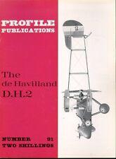 AIRCRAFT PROFILE 91 WW1 AIRCO DE HAVILLAND D.H.2 RFC RAF BIPLANE FIGHTER