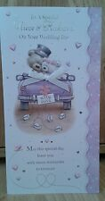 Niece and husband wedding day card ~ just married