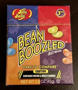 NEW Unopened Jelly Belly 3rd Edition Bean Boozed Jelly Beans 1.6 oz (45g)