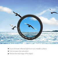 Lightweight ZOMEI 37mm CPL Lens Filter for Mobile Phone Camera Smartphone kit AL